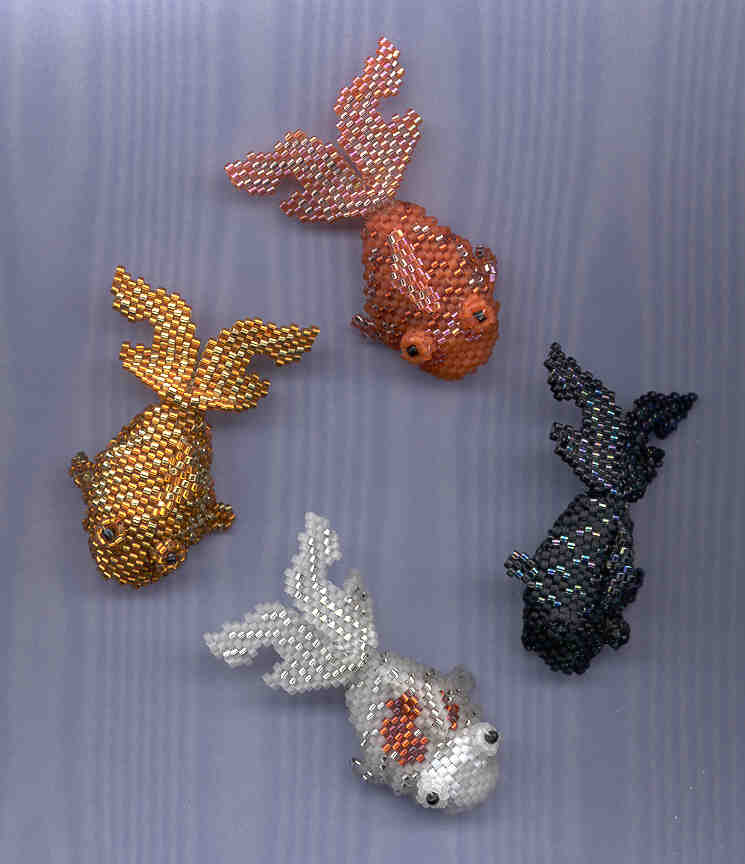 Bead patterns for sale page 1 for Koi fish beads