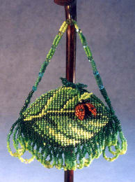 Leaf and Ladybug Pod Purse Pattern